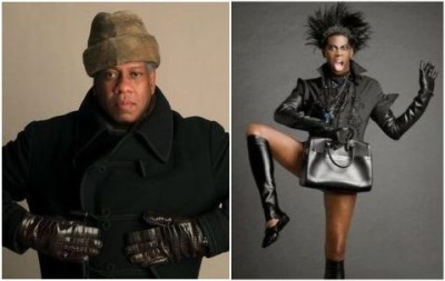 black gay male celebrities - andre leon talley and miss j alexander2