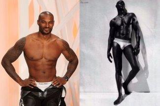 black male calvin klein underwear model tyson beckford and djimon hounsou