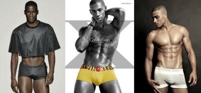 black male calvin klein underwear models