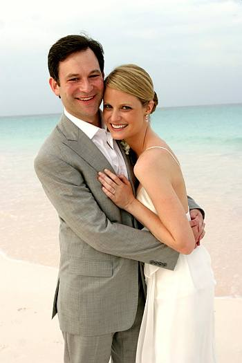 dan harris wedding wife bianca