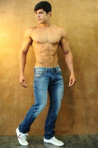 hot guys jeans - Edilson Nascimento by Ismael Pessoa for Diesel