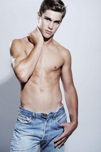 hot guys jeans - Jon Herrmann