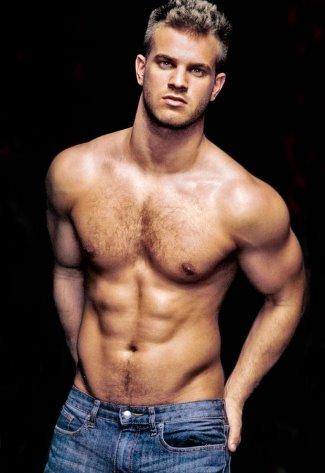 hot guys jeans - evan wadle
