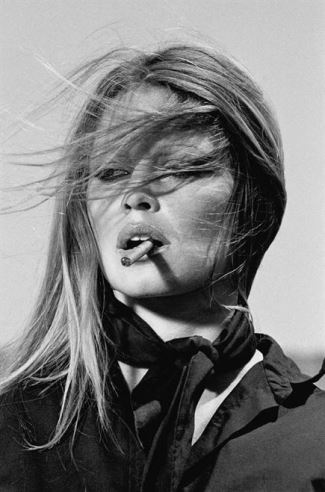 hot girls smoking cigars - brigitte bardot