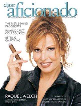 hot girls smoking cigars - raquel welsh2