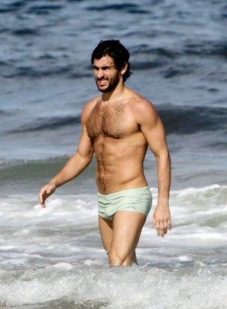 hot men hairy chest - felipe simao brazilian