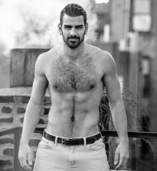 hot guys with hairy chest - nyle dimarco antm