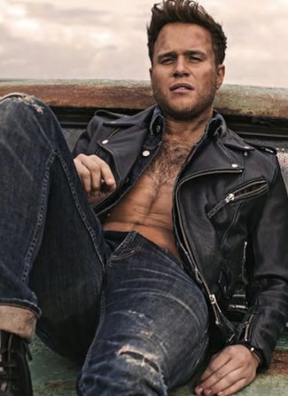 hot guys with hairy chest - olly murs