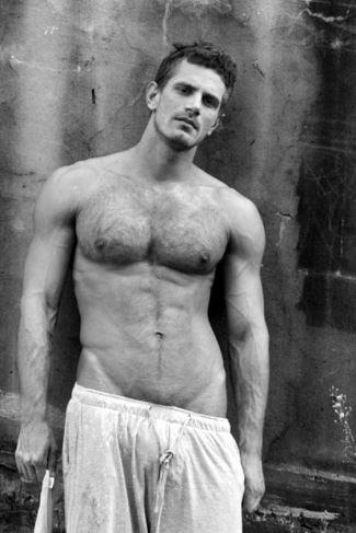 hot men hairy chest list - chris bailey