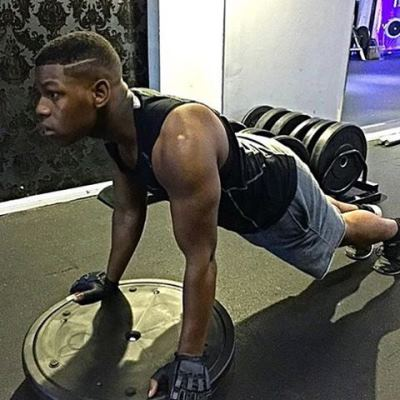 john boyega body workout