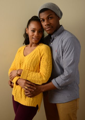 john boyega girlfriend or not - Anika Noni Rose - imperial dreams co-star