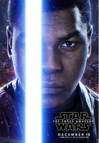john boyega light sabre