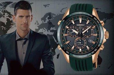 novak djokovic seiko watch - Seiko Astron GPS Solar Novak Djokovic Limited Edition1