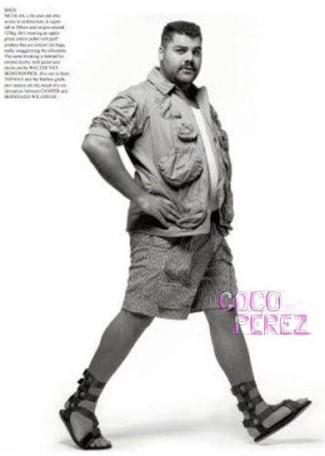 plus size male models - fantastic man