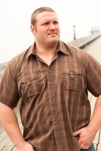 plus size male models - terry hollands for big and tall