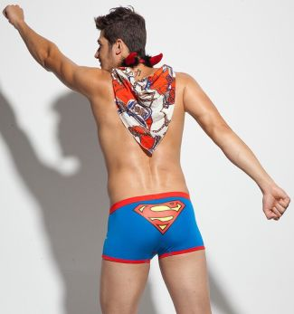 superman underwear for men - male model