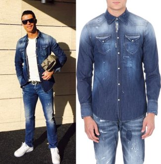 Cristiano-Ronaldo-Jeans-Dsquared2-us417-and-shirt