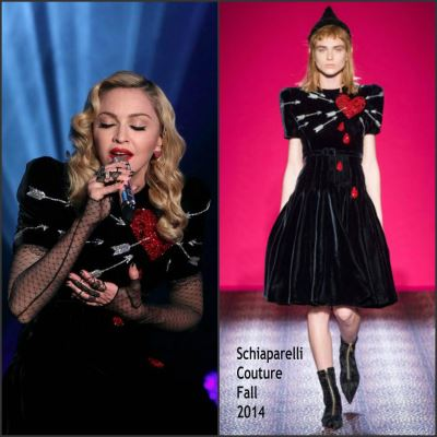 Dresses for Older Women - Madonna in Schiaparelli Couture
