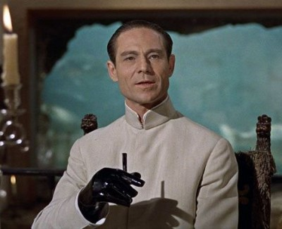 best nehru jackets in hollywood - Joseph Wiseman as dr joseph no in james bond dr no2