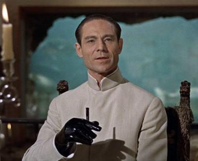 best nehru jackets in hollywood - Joseph Wiseman as dr joseph no in james bond dr no2