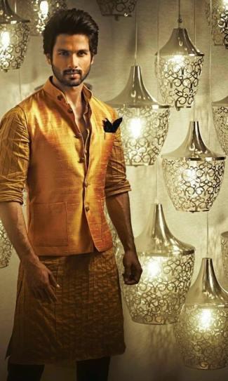best nehru jackets wedding - Shahid Kapoor2