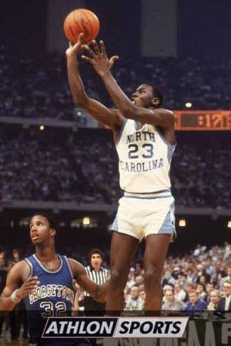 college basketball shorts - michael jordan - unc