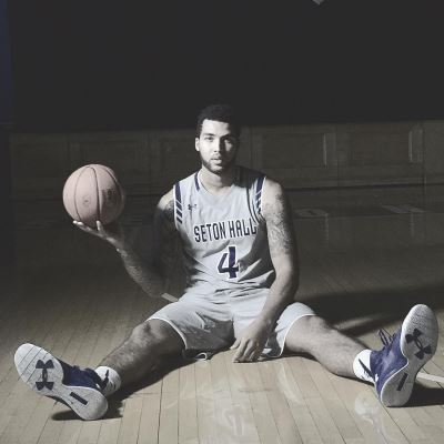 college basketball shorts - seton hall - braeden anderson