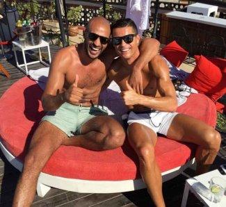 cristiano ronaldo gay boyfriend - Badr Hari