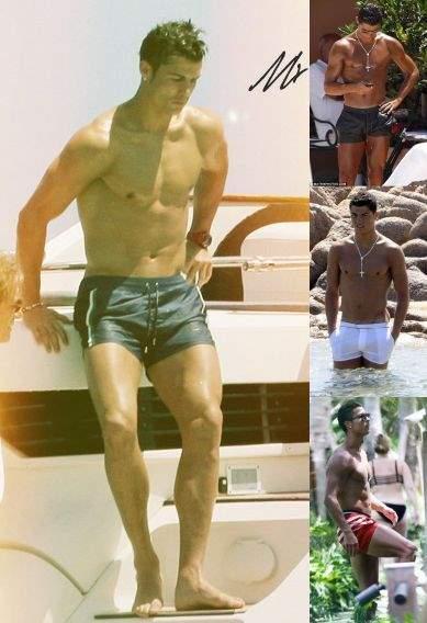 cristiano ronaldo gay evidence - fashion - short shorts