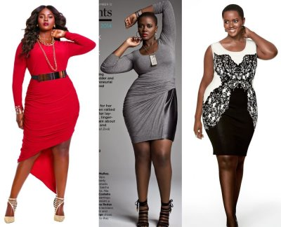 curvey girls dresses - Philomena Kwao - fabulous dresses