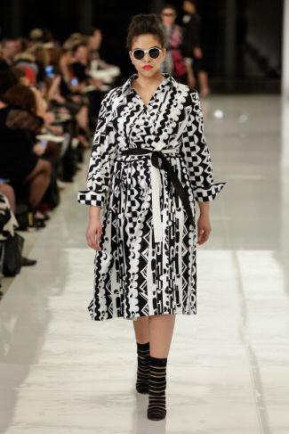 curvy girls dresses - iman mcdonnaugh for lane bryant isabel toledo