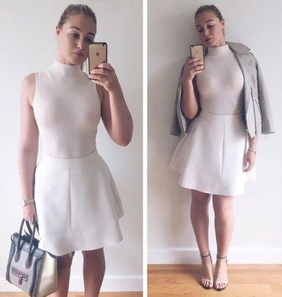 curvy girls dresses - iskra lawrence by reis fashion