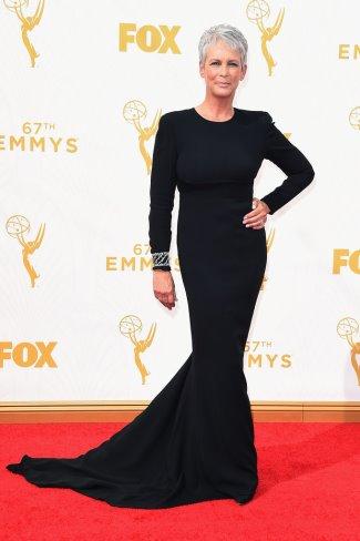 dresses for older women 2016 - jamie lee curtis - stella mccartney