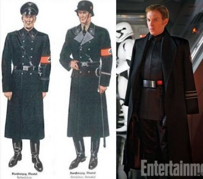 general hux coat in star wars - military trench coat