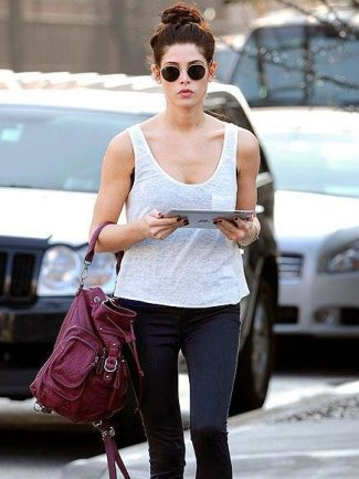 girls ray ban sunglasses guide - Ashley Greene Ray-Ban RB3447 Sunglasses
