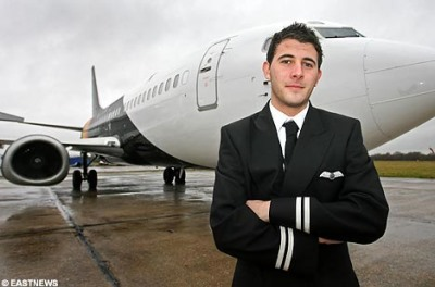 hot airline pilot - youngest ever - ed gardner 192