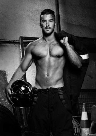 hot firefighters calendar 2016 - french hunks