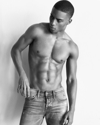 hot young black guys - keithpowers - faking it002