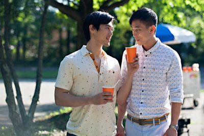 jake choi gay in front cover movie - with james chen