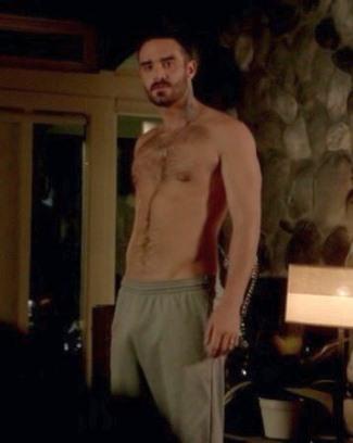 joshua sasse shirtless body