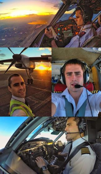 real hot pilot - tom cross qantas airlines