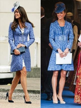 womens winter coats 2016 - kate middleton jacquard coat by jane troughton