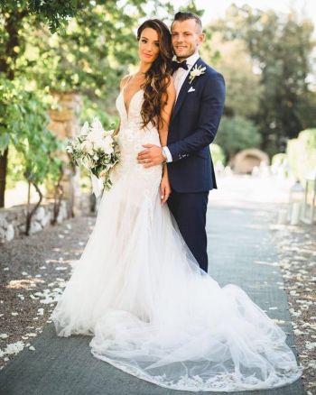 jack wilshere wedding to wife andriani michael