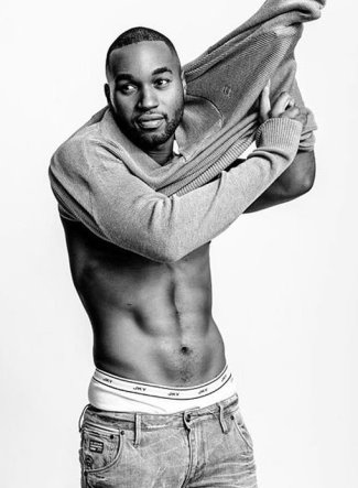 Tye White shirtless underwear photo2