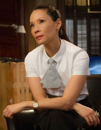 actress watch - Cartier Tank Louis Cartier Watch - Lucy Liu Elementary