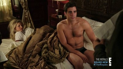ben cura shirtless and underwear - the royals2