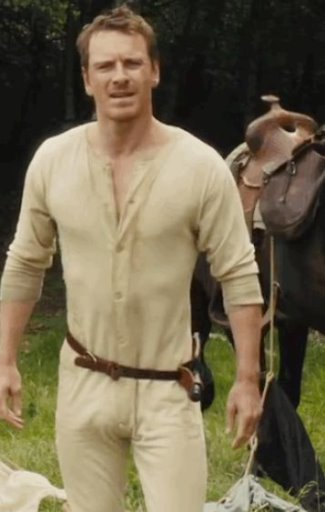 celebrity long johns underwear - michael fassbender3