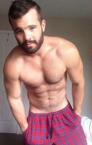 hot guys in shorts - simon dunn boxers