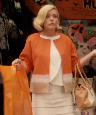 jacqueline white kimmy fashion - piazza sempione colorblock short wool jacket