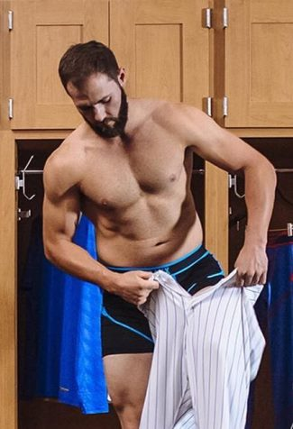jake arrieta shirtless underwear by saxx4